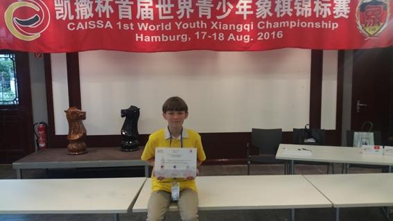 Heimfelder bei der Jugend-Schach-WM erfolgreich